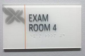 Room ID Signs acrylic indoor lobby wayfinding 300x198
